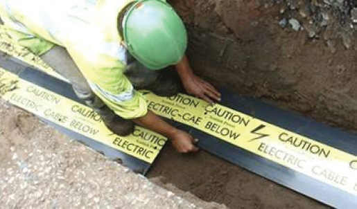 Underground Warning Tapes And Tiles Manufactures In Uae